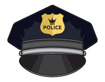 Police cap Royalty Free Stock Photo