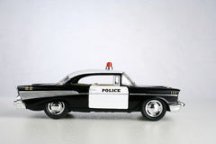 Police car. Old police car or cruiser Royalty Free Stock Photo