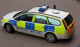 Police Car. Close up of UK police car Stock Photo