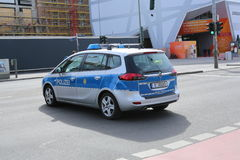 A police car in Berlin, Germany Stock Photography