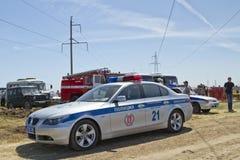 Police car BMW Stock Photos