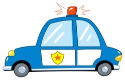 Police car cartoon vector illustration