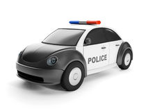 police car close-up Royalty Free Stock Photos