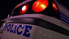 Police Car 2 stock video footage