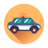 Police car icon Royalty Free Stock Photo