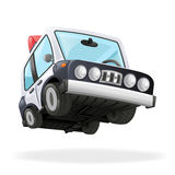 Police Car Icon Law  Isolated Realistic 3d Design Vector Illustration Royalty Free Stock Photo