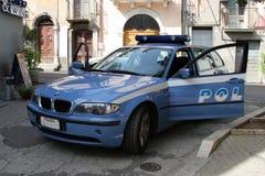 Police Car Italy Royalty Free Stock Photo