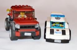 Lego Police car Royalty Free Stock Image