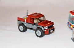 Lego Police car Stock Image