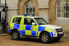Police car London Royalty Free Stock Photography