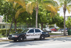Police car Miami Royalty Free Stock Images