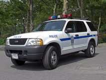 Police car of New York City, USA, 2008 Stock Images