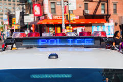 Police car in NYC Stock Photography