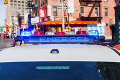 Police car in NYC Royalty Free Stock Photography