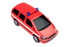 Police car red toy Royalty Free Stock Image