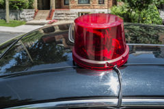Police car sirenne Stock Images