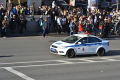 Police car. Royalty Free Stock Photography