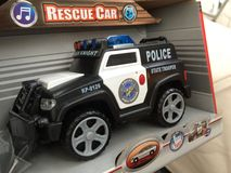 Police car. Toy police car Royalty Free Stock Photo