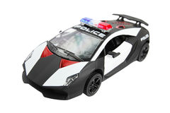 Police car, toy Stock Photos