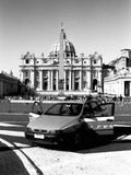Police car at Vatican Royalty Free Stock Photography