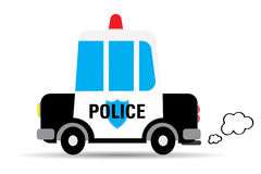 Police car vector illustration Stock Photography