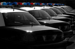 Police Cars Stock Photos