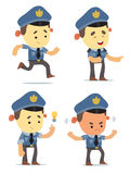 Police Characters Royalty Free Stock Photos