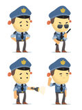 Police Characters Stock Photo