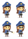 Police Characters Royalty Free Stock Photo