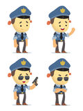 Police Characters Stock Photography