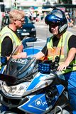 Police during Christopher Street Day Stock Images