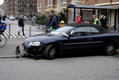 POLICE CLEAR AUTO ACCIDENT Stock Photos