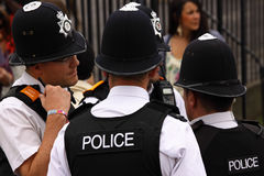 Police Conference Stock Photo