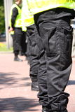 Police cordon Royalty Free Stock Photo
