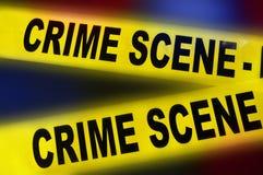 Police crime scene Royalty Free Stock Photo