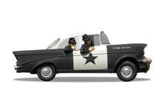 Police Cruiser Stock Image