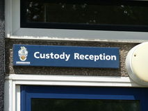 Police Custody Royalty Free Stock Images