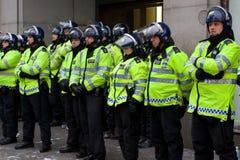 Police d'émeute Photographie stock