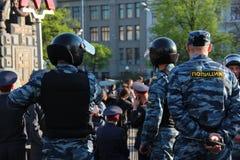 Police d'émeute Images stock