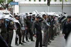 Police d'émeute Image libre de droits
