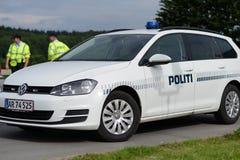 POLICE DANOISE photographie stock libre de droits