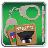 Police Day Azerbaijan Royalty Free Stock Photo