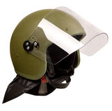 police de casque Photos stock
