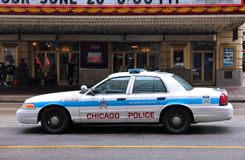 Police de Chicago photo stock
