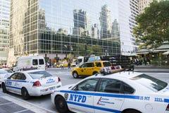 Police de New York photo stock