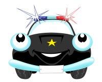 police de véhicule Image libre de droits
