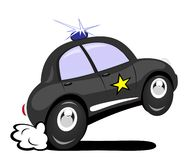 police de véhicule Photo stock