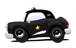 police de véhicule illustration de vecteur