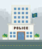 Police design. Royalty Free Stock Images