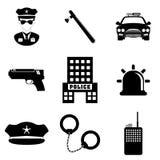 Police design. Stock Photos